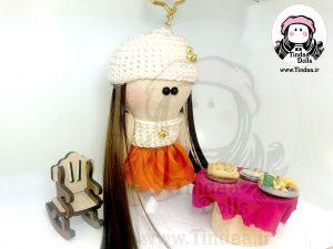 عروسک روسی دختر کد #102