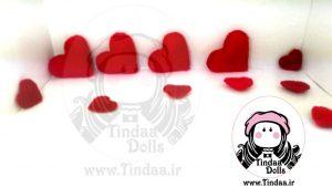 قلب داخل جعبه ای #ولنتاین پک ۳عددی