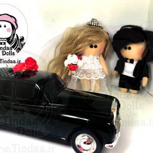 تیندا - عروس داماد